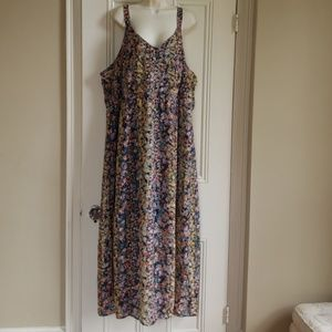 Mlle gabrielle lined floral dress 3x